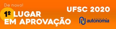 Aprovados - UFSC 2020